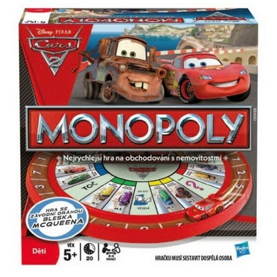 Monopoly - Cars 2