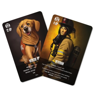 Flash point: Fire Rescue - Veteran and Rescue Dog Access