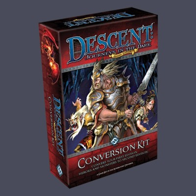 Descent 2nd edition: Journeys in the Dark Second Edition Conversion Kit