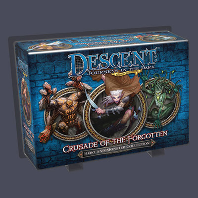 Descent 2nd edition: Crusade of the Forgotten (Hero and Monster Collection)