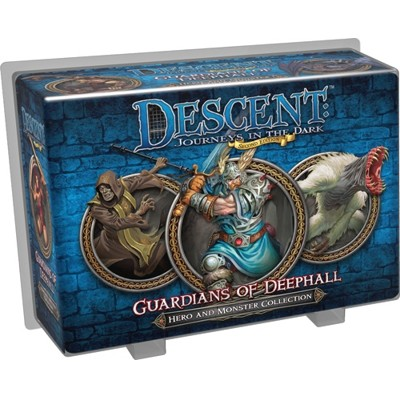 Descent 2nd edition: Guardians of Deephall (Hero and Monster Collection)