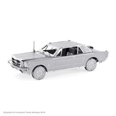 Kovové 3D puzzle - Ford Mustang 1965