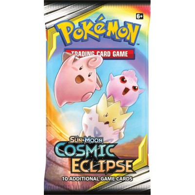 Pokémon Sun and Moon - Cosmic Eclipse Booster
