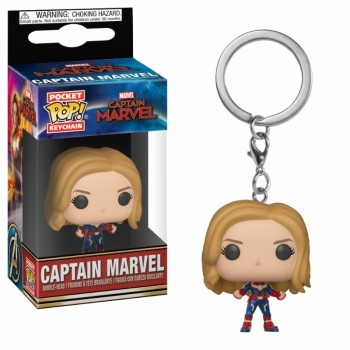 Funko POP: Keychain Captain Marvel - Captain Marvel