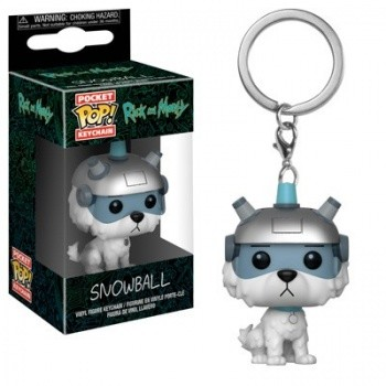 Funko POP: Keychain Rick & Morty - Snowball