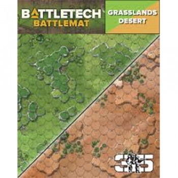 BattleTech: Battle Mat Grasslands Desert