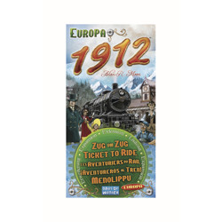 Ticket to Ride - Europe 1912 expansion