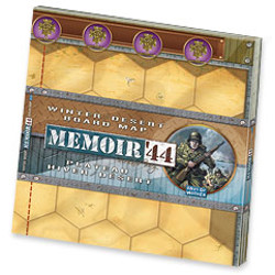 Memoir 44 - Winter - Desert Board Map