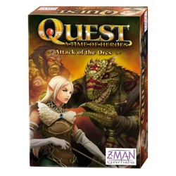 Quest a time of heroes - Attack of the Orcs