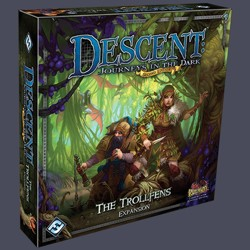 Descent 2nd edition: Trollfens Expansion
