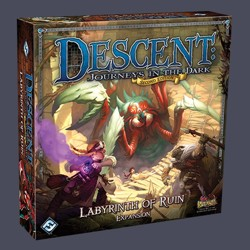 Descent 2nd edition: Labyrinth of Ruin Expansion