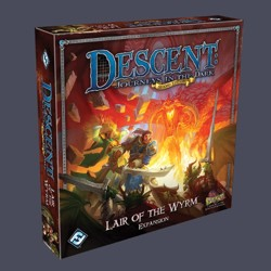 Descent 2nd edition: Lair of the Wyrm Expansion