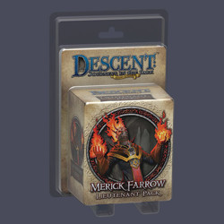 Descent 2nd edition: Merick Farrow Lieutenant Mi...