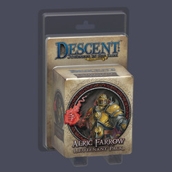 Descent 2nd edition: Alric Farrow Lieutenant Min...