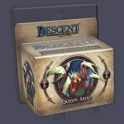 Descent 2nd edition: Queen Ariad Lieutenant Mini...