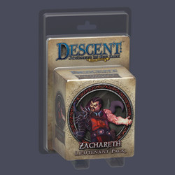 Descent 2nd edition: Zachareth Lieutenant Miniat...