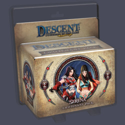 Descent 2nd edition: Serena Lieutenant Miniature