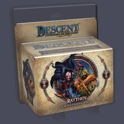 Descent 2nd edition: Raythen Lieutenant Miniature