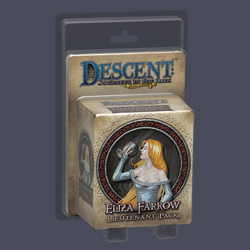 Descent 2nd edition: Eliza Farrow Lieutenant Min...