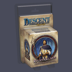 Descent 2nd edition: Rylan Olliven Lieutenant Mi...