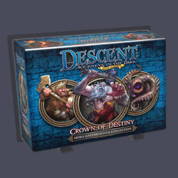 Descent 2nd edition: Crown of Destiny (Hero and ...