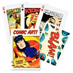Vintage Comic Art - poker karty