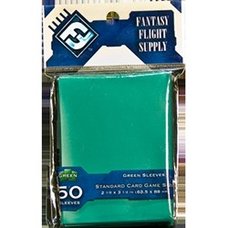 Obaly na karty zelené - FFG Standard Card Game Sleeves green