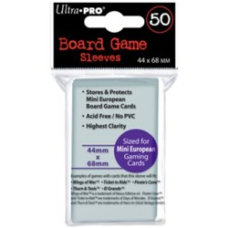 UltraPRO: 50 Board Game Sleeves - Mini European ...