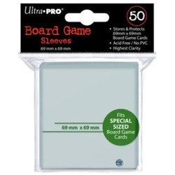 UltraPRO: 50 Board Game Sleeves - 69mm x 69mm Sp...