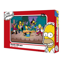Puzzle The Simpsons - 280 dílků