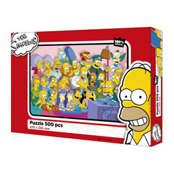 Puzzle The Simpsons - 500 dílků