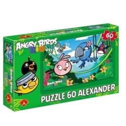 Angry Birds RIO - Puzzle 60 - Voňavá džungle