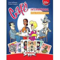Café international - karetní hra