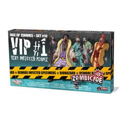 Zombicide - Box of zombies #9 - VIP (Very Infect...