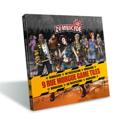 Zombicide Season 3 - Rue Morgue Tiles Pack - EN