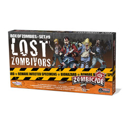 Zombicide - Box of zombies: Lost Zombivors Set