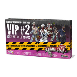 Zombicide - Box of zombies #10 - VIP (Very Infec...