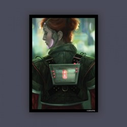 FFG obaly na karty - Android Netrunner - Deep Red Art Sleeves Limited Edition ...