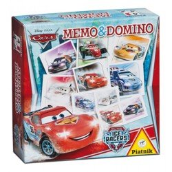 Pexeso & Domino - Cars Ice Racers
