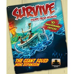 Survive: Escape From Atlantis - The Giant Squid ...