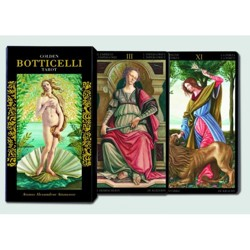 Tarot Golden Botticelli - karty Piatnik