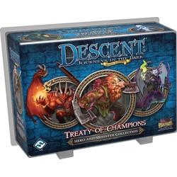 Descent 2nd edition: Treaty of Champions (Hero and Monster Collection)