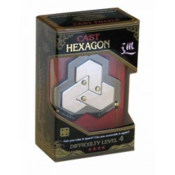 Hanayama Cast Hexagon - hlavolam