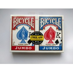 Bicycle - Rider Back Jumbo - Poker karty (2 pack)
