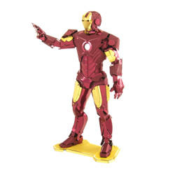 Kovové 3D puzzle - Marvel Iron Man