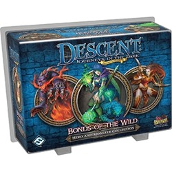 Descent 2nd edition: Bonds of the Wild (Hero and...
