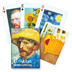 Poker karty Vincent Van Gogh Collectors