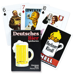 Poker karty Deutsches Bier