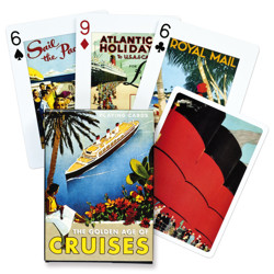 Poker karty Golden Age of Cruises