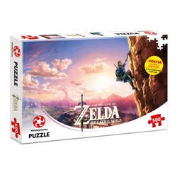 Puzzle: The Legend of Zelda - Breath of the Wild (500 dílků)